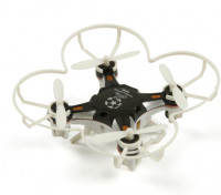 FQ777-124 Pocket Drone 4CH 6Axis Gyro Quadcopter met schakelbare Controller (RTF) (zwart)