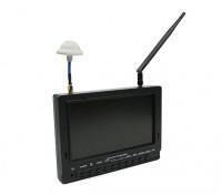 7 inch 800 x 480 40CH Diversity Receiver Zon leesbaar FPV Monitor Fieldview 777SB (Amerikaanse stekker)