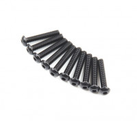 Metal Round Head Machine Hex Screw M2.6x14-10pcs / set