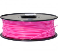 HobbyKing 3D-printer Filament 1.75mm PLA 1KG Spool (Hot Pink)