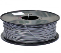 HobbyKing 3D-printer Filament 1.75mm PLA 1KG Spool (Metallic Zilver)