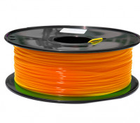 HobbyKing 3D-printer Filament 1.75mm PLA 1KG Spool (Fluorescent Orange)
