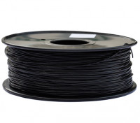 HobbyKing 3D-printer Filament 1.75mm polycarbonaat of PC 1.0kg Spool (zwart)