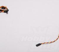 Twisted 15cm Servo Lead Extention (JR) 22AWG (5pcs / set)