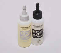 Finish-Cure 20 Min Epoxy Glue 4.5 oz