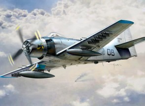 Italeri 1/48 Scale AD-4 Skyraider plastic model kit