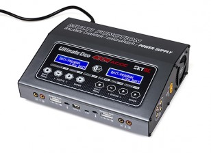 SKYRC Ultimate Duo 400W 20A AC/DC Balance Charger/Discharger/Power Supply (US Plug)