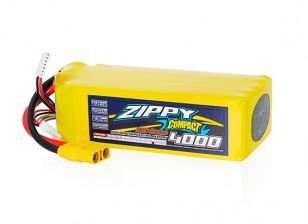 ZIPPY Compact 4000mAh 10S 25C Lipo Pack With XT90