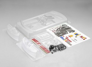 MatrixLine Polycarbonaat Rear-engine Cockpit Kit for 1/10 Touring Cars