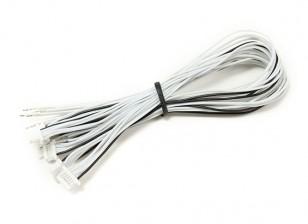 JST-SH 6Pin stekker met 200mm Wire Vlecht (5 stuks)