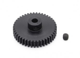 Robinson Racing zwart geanodiseerd aluminium Pinion Gear 48 Pitch 43T (AR Warehouse)
