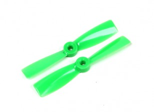GemFan 4045 Bullnose Polycarbonaat Propellers (CW / CCW) Groen (1 paar)
