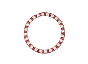 Keyes Wearable WS2812 24 LED Full Color 5050 RGB LED Ring Module