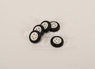 Light Foam Wheel (Diam: 30, breedte: 11mm) (5pcs / bag)
