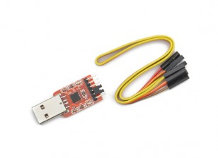 Micro SATA-kabel - USB 2.0 naar TTL UART 6PIN Module Serial Converter CP2102