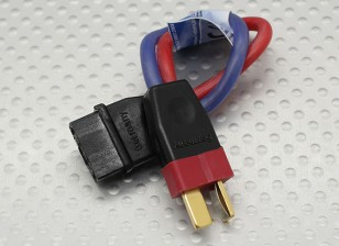 PowerBox Adapter draad MPX Female - Deans Male 2.5mm draad 10cm