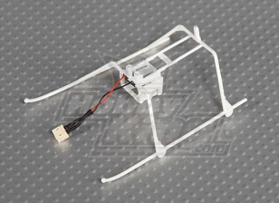 Solo Pro FP II Landing Skid & Battery Frame w / connector