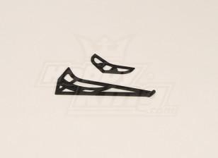 GT450PRO Plastic horizontale / verticale Tail Fin