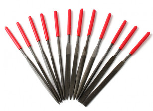 Needle Files T12 (staal / Alloy / Plastic)