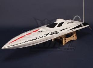 Osprey borstelloze V-Hull R / C Boat (1075mm) Hull w / Motor & Hardware