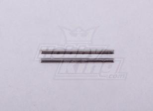 Diff.gear Shaft 1.5 * 24.5 -118B, A2023T, A2029 en A2035