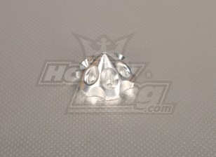 CNC 3D spinner Silver