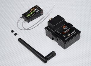 FrSky DJT 2.4Ghz Combo Pack voor JR w / Telemetrie Module & V8FR-II RX