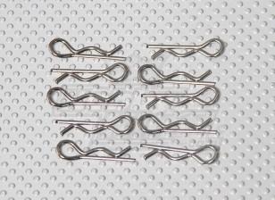 Body Clips (10pc / Tas) - A2016T, A2031, A2038, A3015 en A2032