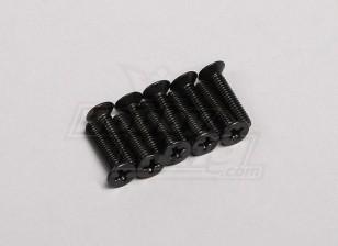 4x18mm verzonken schroef (10st / pack)