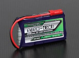 Turnigy nano-tech 350mAh 1S 65 ~ 130C Pack Lipo