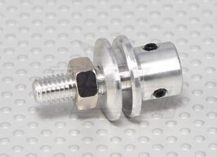 Prop adapter w / Steel Nut 3mm as (Grub Screw Type)