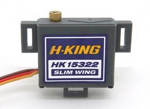 HK15322MG Digital Slim Wing Servo 1,75 kg / 0.10sec / 19g