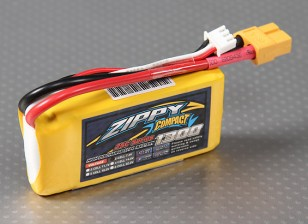 Pack ZIPPY Compact 1300mAh 2S 25C Lipo