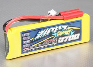 Pack ZIPPY Compact 2700mAh 2S 25C Lipo