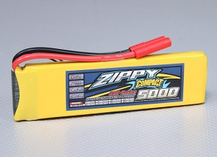 Pack ZIPPY Compact 5000mAh 2S 25C Lipo