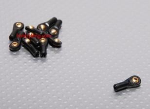 Bal en roller koppeling 4.8x2x18mm (10st / set)