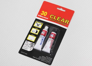 EV830 / 20G 30 Min Cure Clear Epoxy Glue