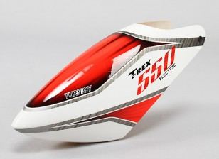 Turnigy High-End Fiberglass Canopy voor Trex 550E