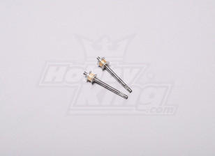 HK-250GT Tail Drive Gear Shaft (2 stuks / set)
