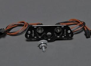 Dual RX / CDI-schakelaar met benzinedop