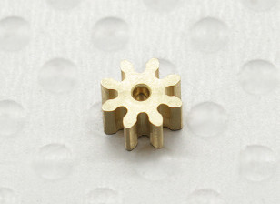 Micro Helicopter Pinion Gear 0,5M 8T