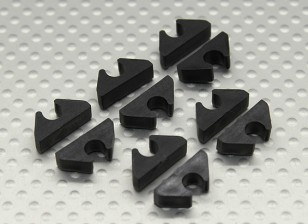 Air Line / Fuel Line / Cable Tidy Clip voor 5mm OD (10pc)