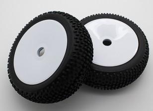 1/8 Off-road Buggy wiel / band 17mm Hex (2 stuks / zak)