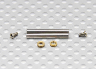 Turnigy FBL100 Feathering Shaft (2 stuks / zak)