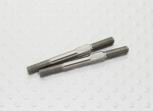 3mm x 35mm Titanium Spanschroef Turnigy TD10 4WD Touring Car (2pc)