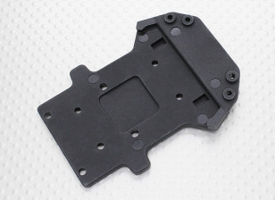 Voor Onder Chassis Plate - 1/10 Quanum Vandal 4WD Racing Buggy