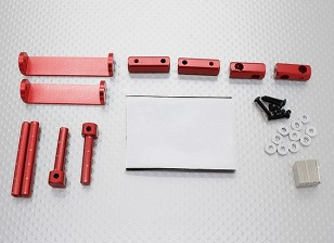 1/8 Car Magnetische Body Montage Set (Red)