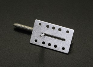 Aluminium Canopy Lock / Latch Spring Loaded