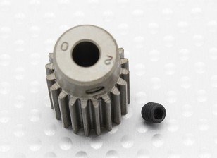 """""""Hard One"""" 0,7M Geharde Helicopter Pinion Gear 5mm Shaft - 20T"""
