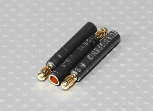 3.5mm Male naar 4mm Female bullet - 3pcs / bag